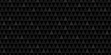 Geometric background. Seamless pattern. Vector. Triangle shapes. Illustration