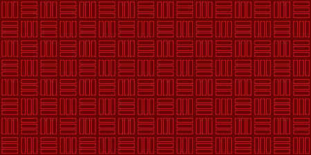 Traditional Japanese background. Seamless pattern.Vector.