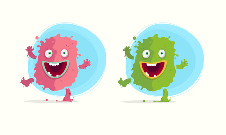 mucus: monster character  illustrations