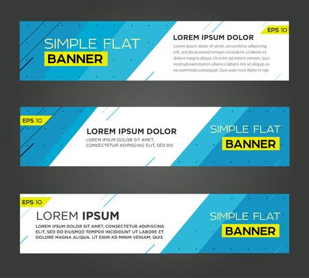 Abstrakte Fahne Linie Entwurf. Vektor Standard-Bild - 40924999