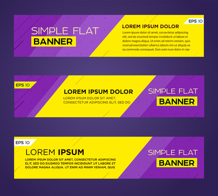 Abstract banner line design . Vector Imagens - 40982941
