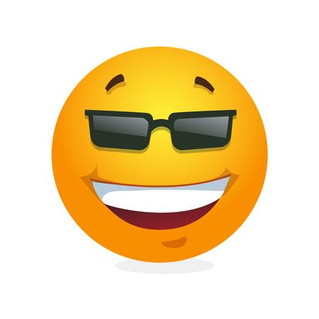 readiness: Smile. Emoticon. Vector