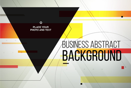 business background: Business abstact background. Vector template Illustration