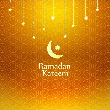 Ramadan Kareem, greeting vector background,