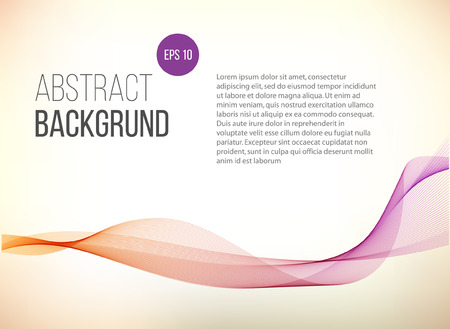 web banner: Abstract violet gradient background . Eco. Health. Wave lines