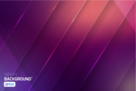 news flash: Cosmic sci-fi vector abstract background. Science, disco, party. Print, video News and sport Illustration