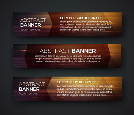 backgrounds: Abstract banner design. Vector. Disco nighclub disco DJ. Cosmic HUD sci-fi interface. Science news sport. War online games Illustration