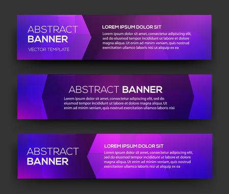 Abstracte banner ontwerp. Vector. Disco nighclub disco DJ