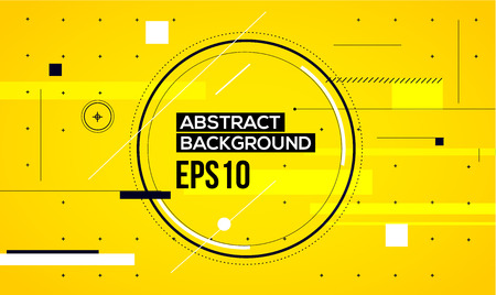 yellow line: Abstract yellow line background. Vector illustration eps10 Illustration