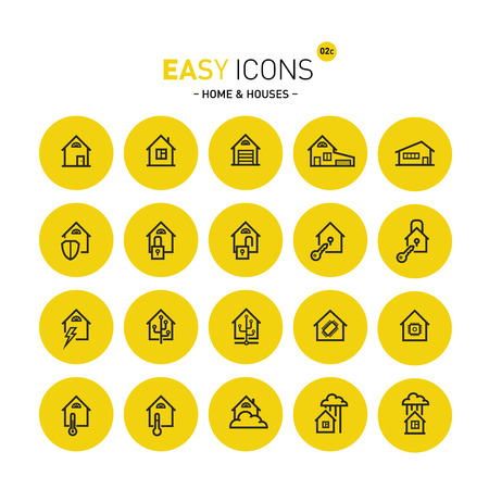 shed: Easy icons 02 Home Illustration