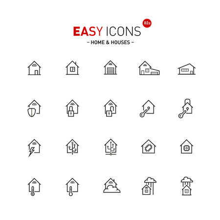 home: Easy icons 02 Home Illustration