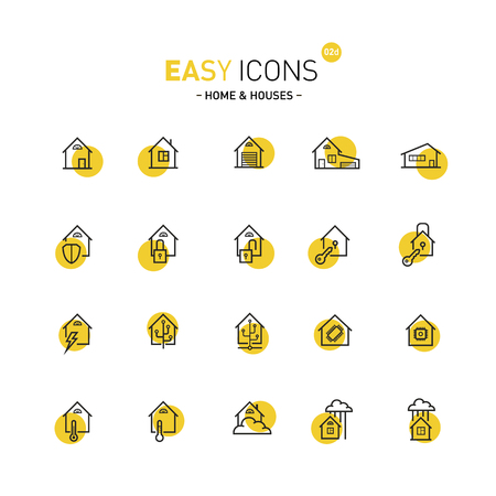guarding: Easy icons 02d Home