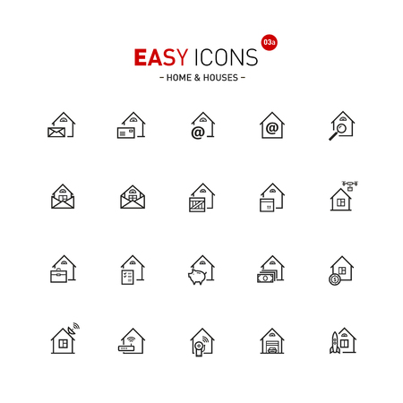 guarding: Easy icons 03a Home