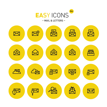 Easy icons 04c Mail Illustration