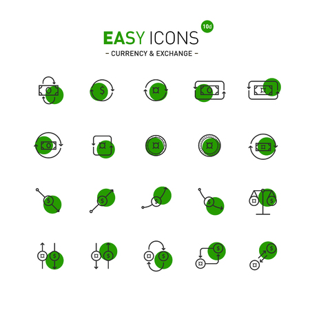 unspecified: Easy icons 10d Exchange Illustration