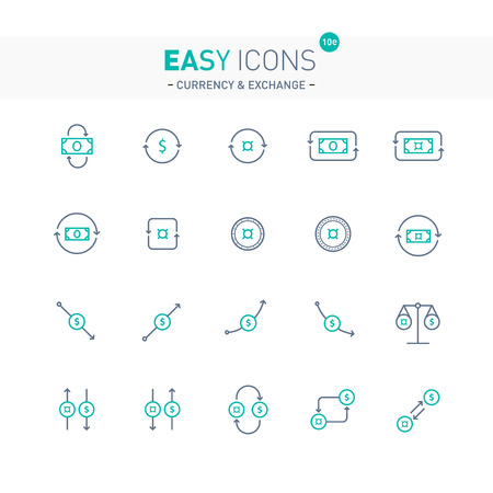 unspecified: Easy icons 10e Exchange Illustration