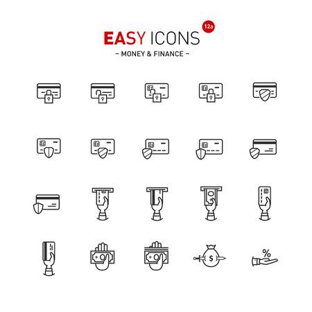 easy money: Easy icons 12a Money