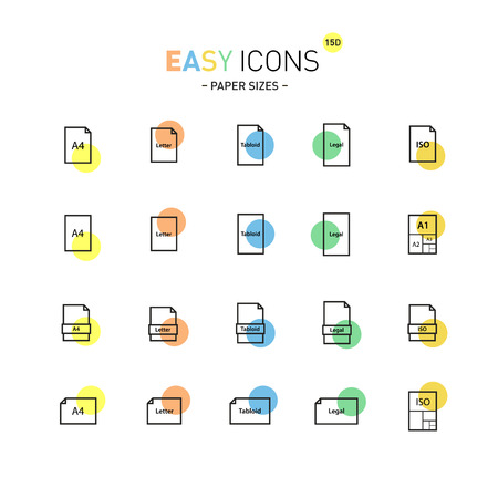 a3: Easy icons 15D Papers
