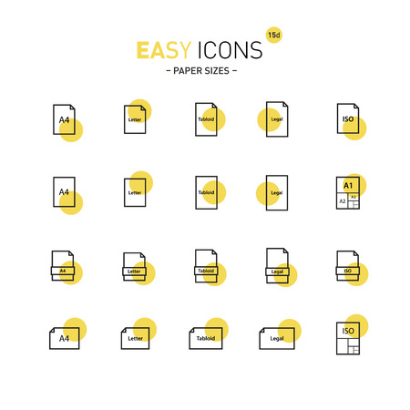 measures: Easy icons 15d Papers