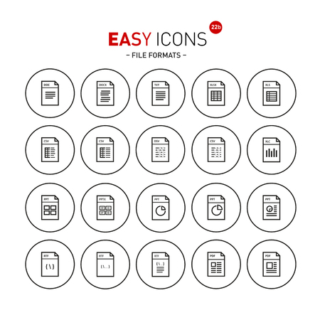 datasheet: Easy icons 22b Database