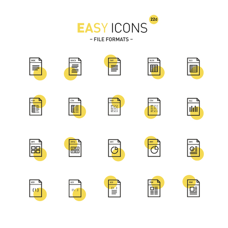 datasheet: Easy icons 22d Database