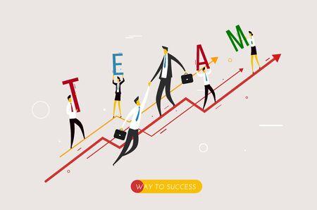 condo: Businessman climbing graph, help.