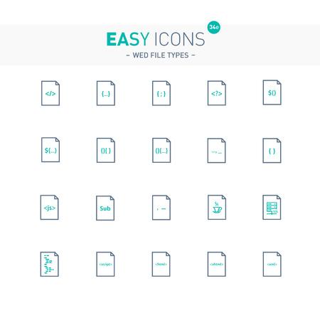 Easy icons 34e File types Illustration