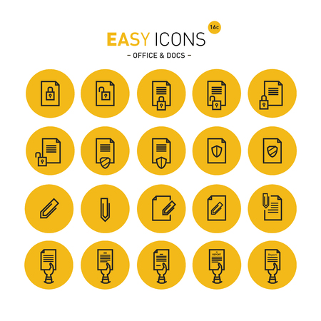 Easy icons 16c Docs Illustration