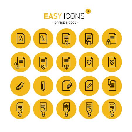 Easy icons 16c Docs Illustration