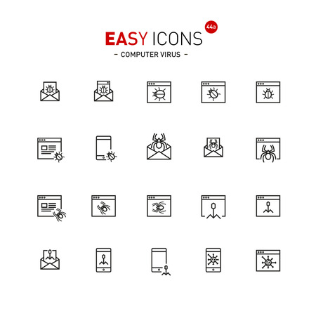 Easy icons 44a Computer virus