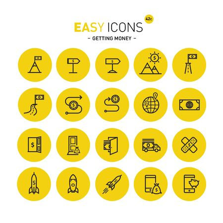 Easy icons 42c Gettng money