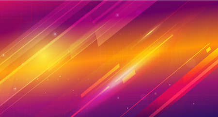 Cosmic shining abstract background Illustration