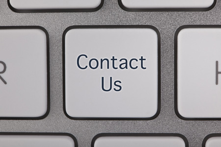 Contact Us Button on Keyboard photo