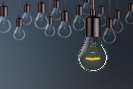 白熱電球の光イノベーション概念