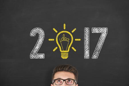 zvýšil: New Year 2017 Idea Concepts