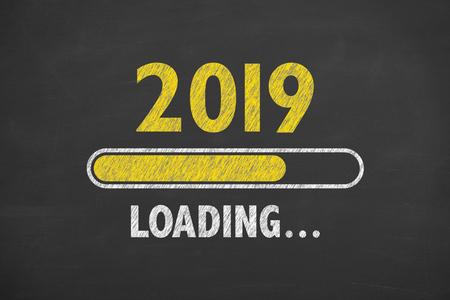 Loading New Year 2019 on Blackboard
