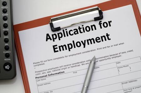 Application for Employment photo