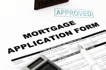 mortgage: Mortgage Stock Photo