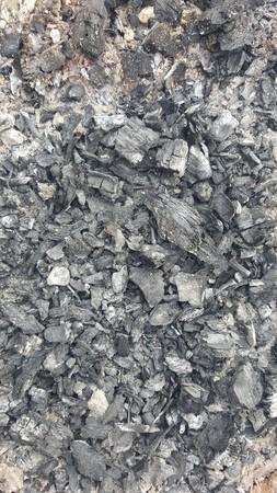 gas stove: Natural coals texture. Abstract texture. Coals background Stock Photo