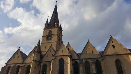 Gothic Church in Sibius old city center