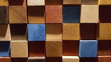 wood panel: Colorful wood texture Stock Photo