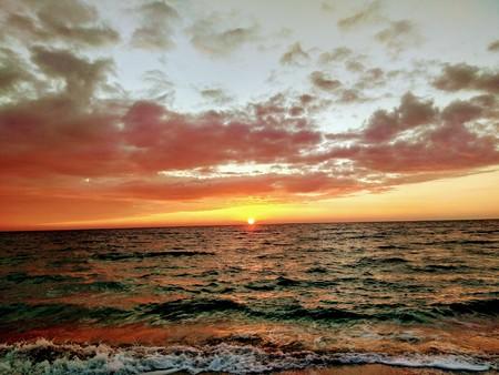 海、オデッサ、13 大さじで夜明け。 写真素材 - 91183210