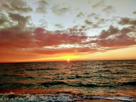 Dawn at the Sea, Odessa, 13 tbsp.