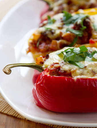 Stuffed Peppers Stock Photo - 14501293