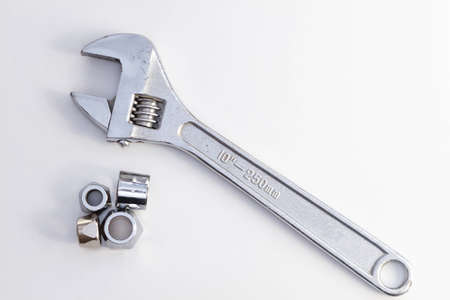 Adjustable spanner  monkey wrench