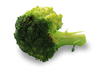 Broccoli isolated with clipping path on white background Stock Photo - 16834381