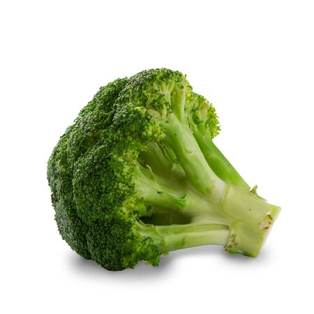 Broccoli isolated with clipping path on white background Stock Photo - 16834409