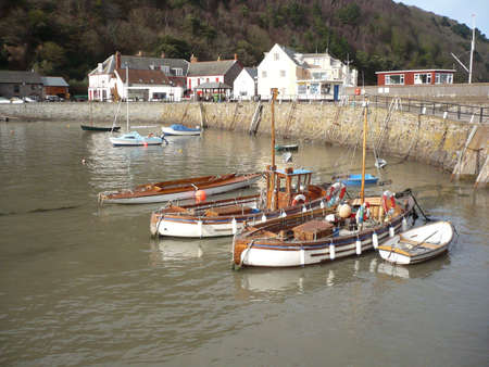 Quay at Minehead, Somerset, South West England Stock Photo