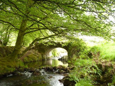 streifzug: Robber's Bridge, Exmoor, S�d-West England