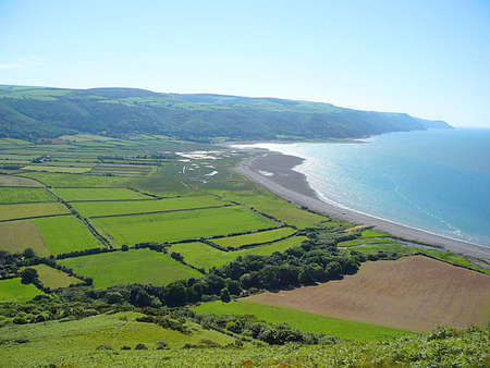 farmlife: Porlock Bay, Exmoor, South West England